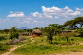 African Traditional Hut, Kenya. African Traditional Hut In Kenya poster