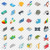 Strong Economy Icons Set. Cartoon Style Of 36 Strong Economy Vector Icons For Web For Any Design poster