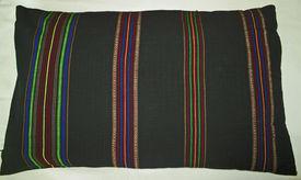 picture of pillowcase  - Vintage pillowcase handwoven  - JPG