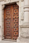 Doors To The Archbishop's Palace, Lima, Peru