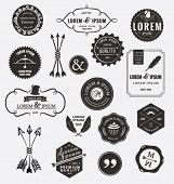 picture of logo  - Vintage design elements - JPG