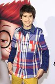 LOS ANGELES - MAR 5: Joshua Rush at the premiere of 'Mr. Peabody & Sherman' at Regency Village Theat