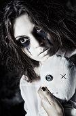 picture of rag-doll  - Horror shot - JPG