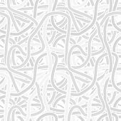 picture of twisty  - Vector seamless monochrome gray pattern  - JPG