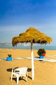 foto of tourist-spot  - A vacant spot for a tourist seeking for sunny weather in Andalusia Spain - JPG
