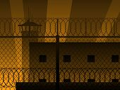 Prison background