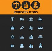 picture of skid-steer  - industry isolated icons - JPG