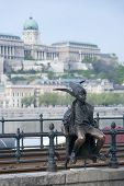 foto of metal sculpture  - BUDAPEST HUNGARY  - JPG