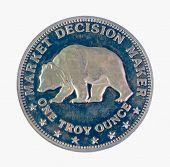 ������, ������: Silver Bear coin