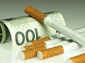 pic of  habits  - Smoking is expensive habit - JPG