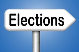 picture of election  - elections to get new government or president free election for new democracy local national voting poll  - JPG