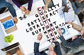 picture of scrabble  - Customer Target Market Puzzle Crossword Concept - JPG