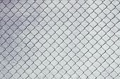 foto of chain link fence  - Metal Chain Fence - JPG