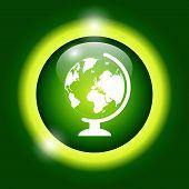 pic of geography  - geography school earth globe web icon - JPG