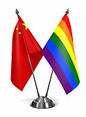 picture of gay flag  - China and Gay  - JPG