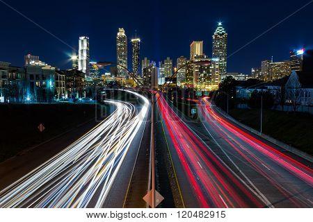 View of Atlanta from Jackson
