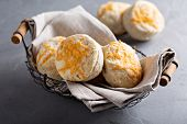 ������, ������: Homemade buttermilk biscuits with cheddar cheese
