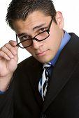 Постер, плакат: Бизнесмен носить очки