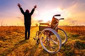 Miracle Recovery: Young Girl Gets Up From Wheelchair And Raises Hands Up poster