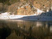 picture of amtrak  - Colorado River above Glenwood Springs shot from the Amtrak California Zephyr - JPG