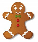 picture of ginger bread  - Gingerbread vector - JPG