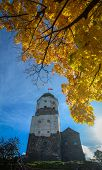 Tower Of Saint Olav In Vyborg, Russia poster