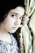 Постер, плакат: Девушка эмоциональное лицо