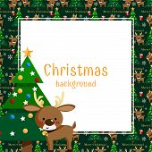 Christmas Holiday Season Background. poster