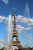 Eiffel Tower Also Called Tour Eiffel Is The Symbol Of Paris In France poster