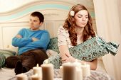foto of love hurts  - Quarrel and hurt two loving home - JPG