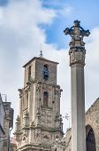 Assumption Church Bell Tower At Calaceite, Spain