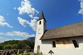 Small Gothic Church, Obersch�tt Austria
