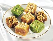 picture of halwa  - A  group of delicious - JPG