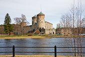 picture of olaf  - Famous Medieval Olavinlinna stone castle in Savonlinna Finland - JPG
