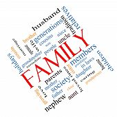 picture of niece  - Family Word Cloud Concept angled with great terms such as loving parents home and more - JPG