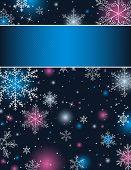 Постер, плакат: цвет фона Рождество вектор