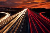 foto of speeding car  - Speed Traffic  - JPG