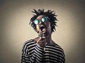 image of singer  - A great singer  - JPG