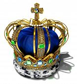 foto of crown jewels  - Illustration of a crown with jewelery decoration - JPG