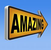 pic of you are awesome  - awesome  or wow sign excellent and super mind blowing product - JPG