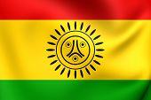 pic of greater antilles  - Flag of Jatibonicu Taino Tribal Nation of Boriken Puerto Rico - JPG