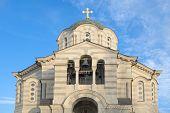 stock photo of sevastopol  - The Vladimir cathedral  - JPG