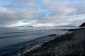 stock photo of chukotka  - Arctic coast of Chukotka - JPG