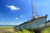 stock photo of fret  - Ship wreck in Le Fret Crozon community Finist - JPG