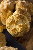foto of buttermilk  - Homemade Flakey Buttermilk Biscuits Ready to Eat - JPG