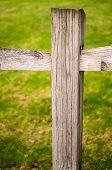 stock photo of wooden fence  - wooden fence  - JPG