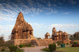 foto of shiva  - Kandariya Mahadeva Temple dedicated to Shiva Western Temples of Khajuraho Madyha Pradesh India  - JPG