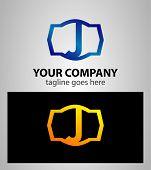 foto of letter j  - Letter J logo icon design template elements - JPG