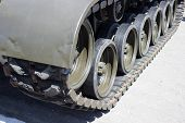 image of tank truck  - Tank close - JPG