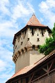 image of sibiu  - sibiu city romania The Carpenters Tower landmark architecture - JPG